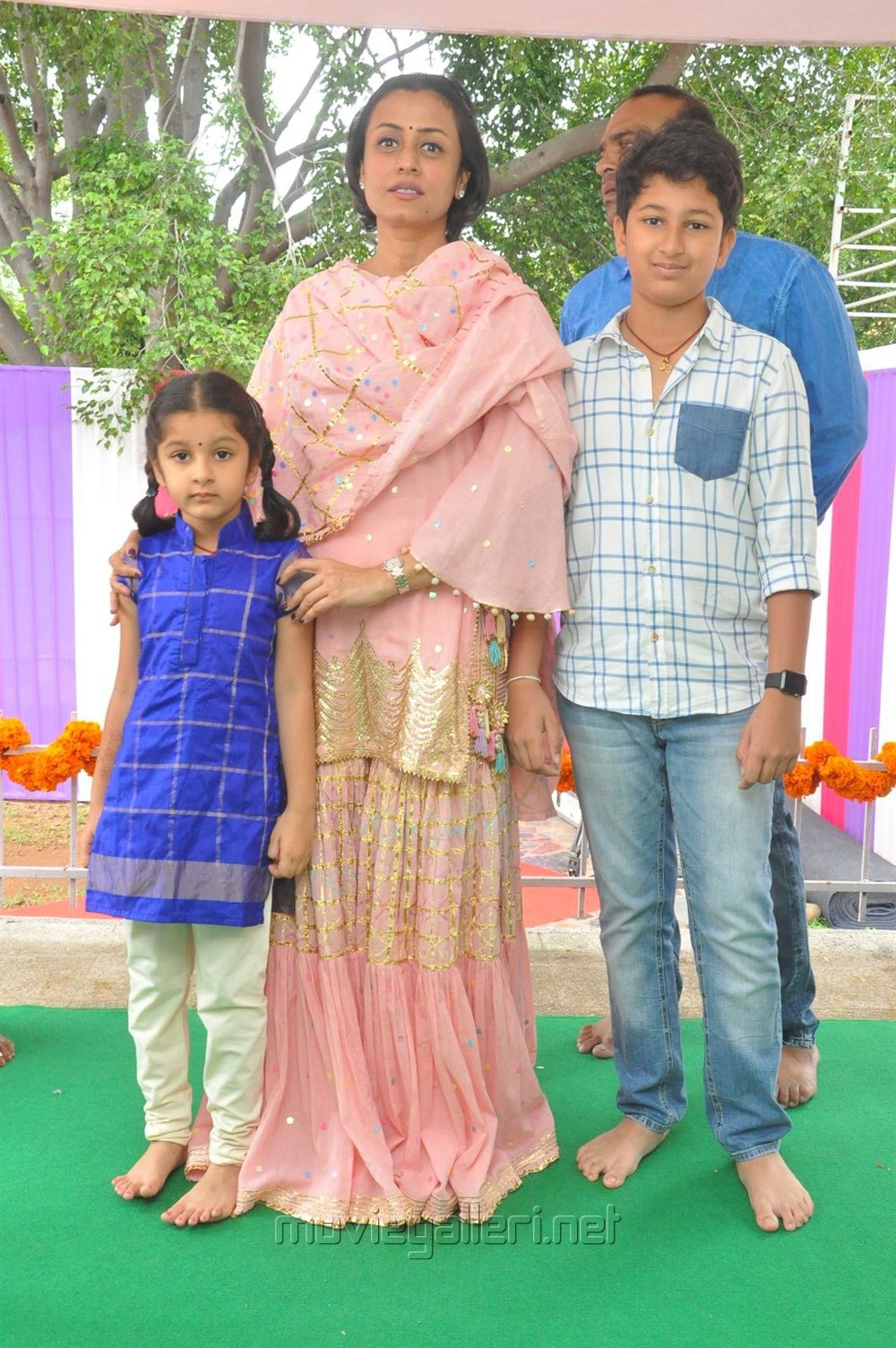 Namrata Shirodkar, Gautham, Sitara Ghattamaneni @ Mahesh Babu Vamsi Paidipally Movie Opening Photos