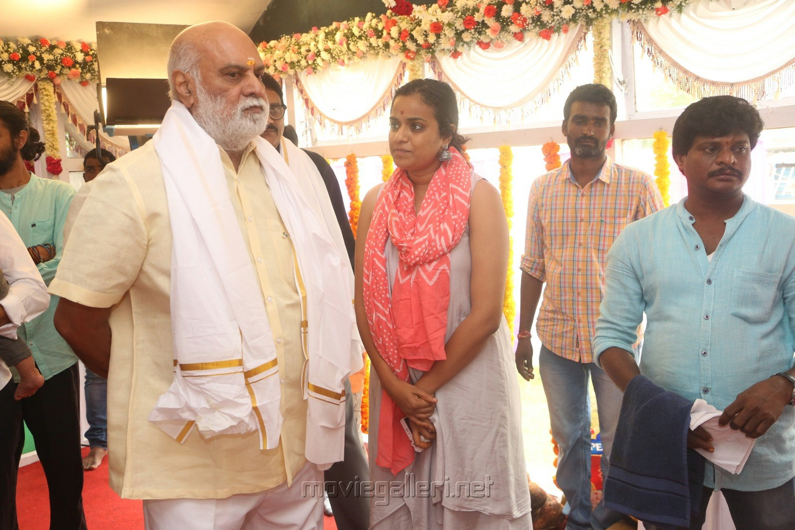 Mahesh Babu Vamsi Paidipally Movie Opening Photos