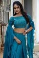 Bazaar Rowdy Actress Maheshwari Vaddi Photos in Blue Dress