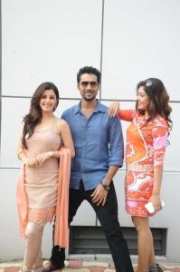 Isha Talwar, Pradeep Betno, Komal Jha @ Maine Pyar Kiya Movie Opening Stills