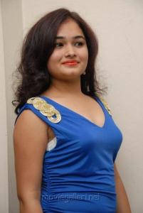 Telugu Actress Mythili Stills at Double Trouble Audio Launch