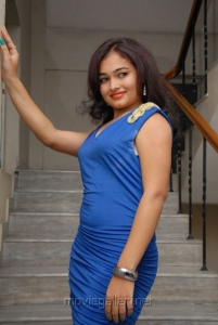 Telugu Actress Mythili Stills at Double Trouble Audio Release