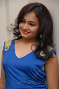 Telugu Actress Maithili at Double Trouble Audio Launch