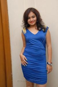 Telugu Actress Maithili at Double Trouble Audio Release