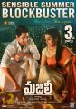 Naga Chaitanya, Divyansha Kaushik in Majili Movie 3rd Week Posters