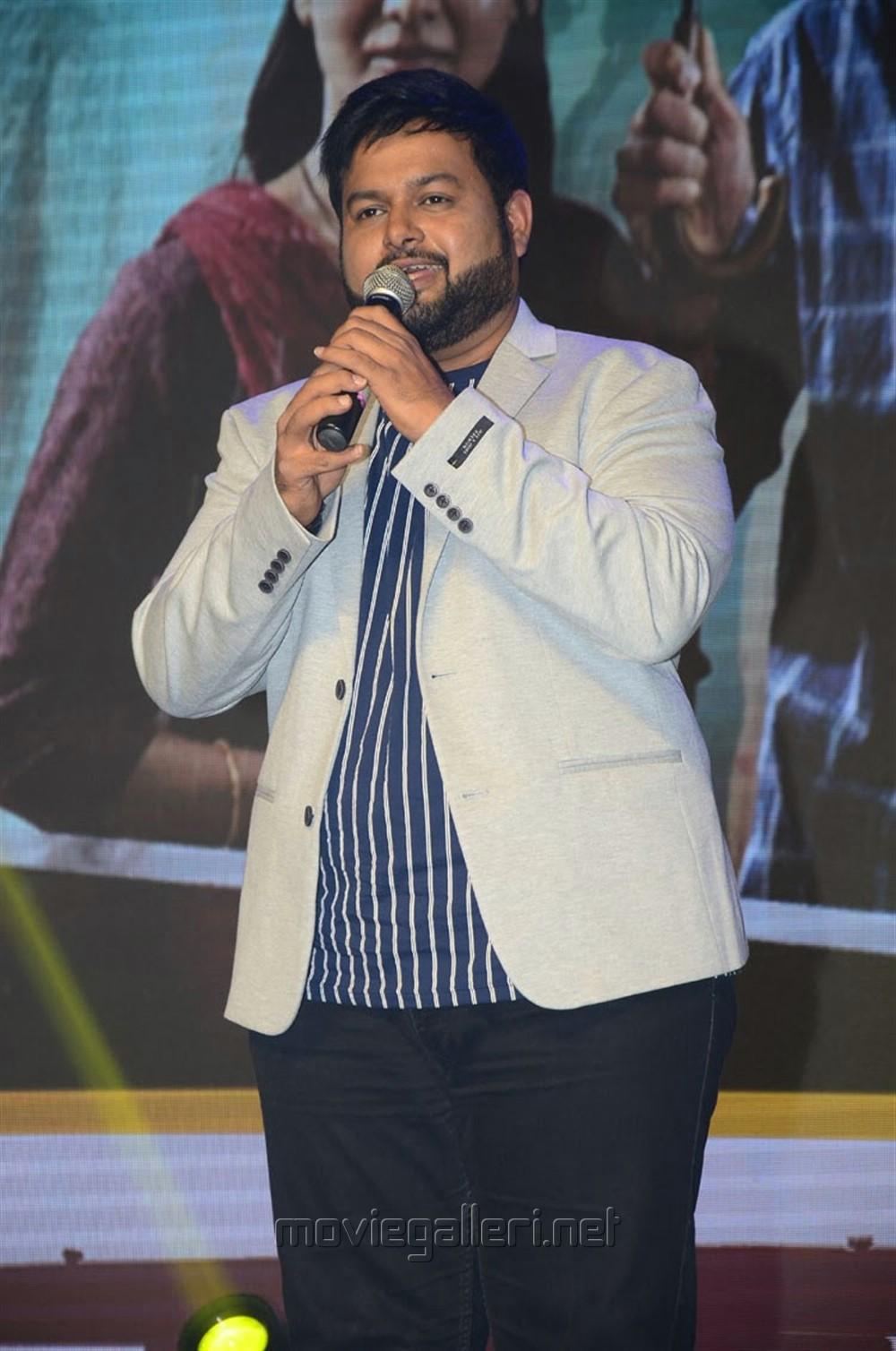Thaman @ Majili Movie Pre Release Event Stills