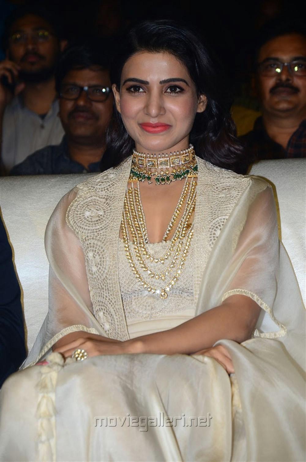 Actress Samantha Akkineni @ Majili Movie Pre Release Event Stills