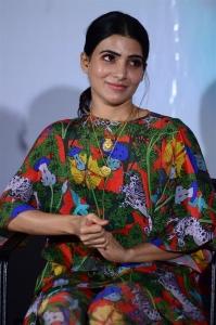 Actress Samantha Akkineni @ Majili Movie Success Meet Stills