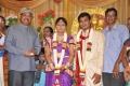 K.Bhagyaraj @ Major Dasan Daughter Wedding Reception Photos