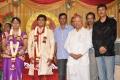 Nalli Kuppuswami Chetti at Major Dasan Daughter Wedding Reception Photos