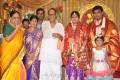 Muktha Srinivasan at Major Dasan Daughter Wedding Reception Photos