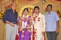 RB Choudary at Major Dasan Daughter Wedding Reception Photos