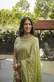 Actress Malavika Mohanan Beautiful Saree Photos
