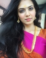Actress Malavika Mohanan in Saree Photos