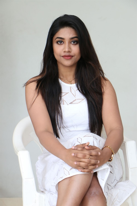 Actress Malavika Satheesan Photos @ Choosi Choodangane Movie Press Meet
