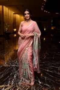 Red Movie Actress Malvika Sharma Cute Saree Photos