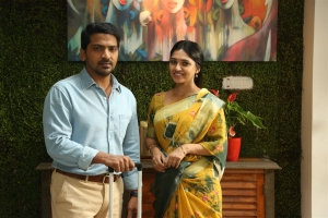 Vaibhav Reddy, Vani Bhojan in Malaysia to Amnesia Movie Images