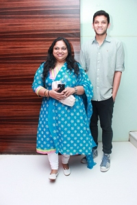 Actress Saritha @ Malini 22 Palayamkottai Movie Premiere Show Stills