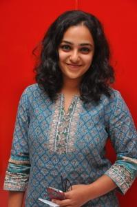 Nithya Menon @ Malini 22 Palayamkottai Movie Premiere Show Stills
