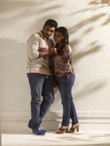 Nithya Menon & Krish Sathar in Malini 22 Telugu Movie Stills