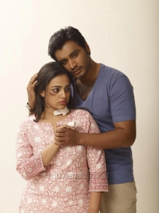 Krish Sathar, Nithya Menon in Malini 22 Telugu Movie Stills