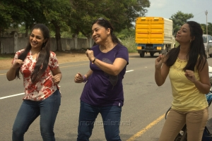 NIthya Menon, Kovai Sarala in Malini 22 Telugu Movie Stills