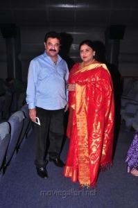 Rajkumar, Sripriya @ Malini 22 Vijayawada Audio Release Photos