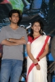 Kranthi, Sri Divya at Mallela Theeram Press Meet Stills