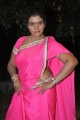 Telugu Actress Mallika Hot in Pink Saree Photos