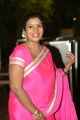 Telugu Actress Mallika Pink Saree Photos