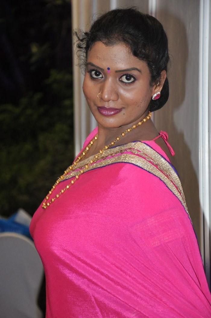 Picture 970098 | Telugu Actress Mallika Hot in Pink Saree Photos | New ...