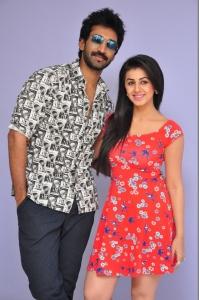 Aadhi, Nikki Galrani @ Malupu Movie Press Meet Stills