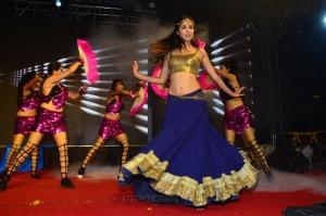 Actress Malvika Raaj Dance Stills at Jayadev Pre-Release Event