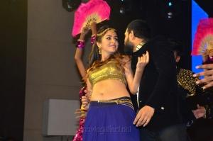 Actress Malvika Raaj Dance Stills at Jayadev Movie Pre-Release Event