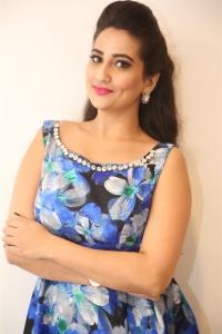 Anchor Manjusha @ Mama O Chandamama Pre Release Function Stills