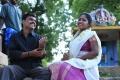 Amudhan, Abhinitha in Maman Machan Movie Stills