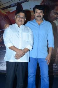 Allu Aravind, Mammootty @ Mamangam Movie Press Meet Stills