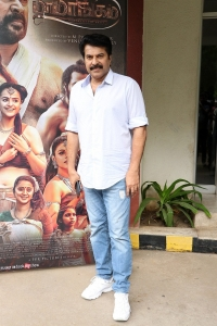 Mammootty @ Mamangam Movie Team Meet Photos