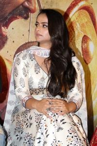 Prachi Tehlan @ Mamangam Movie Team Meet Photos