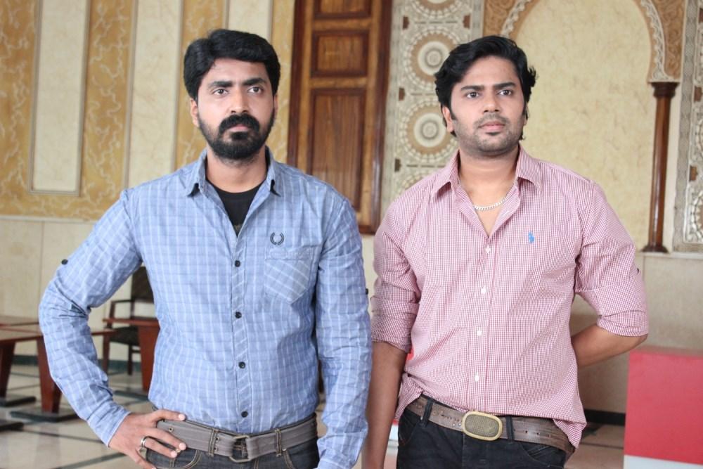 Prajin, Gautham Krishna in Manal Nagaram Tamil Movie Stills