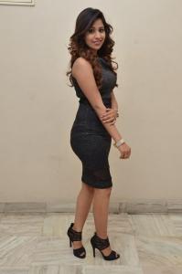 Actress Manali Rathod Black Tight Dress Images