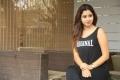 Actress Manali Rathod Photoshoot Pictures in Sleeveless Black T Shirt