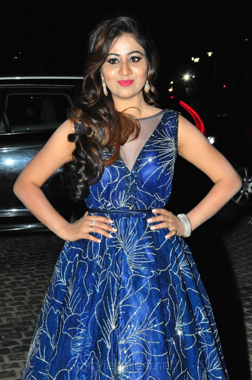 Actress Manali Rathod Pics @ 65th Jio Filmfare Awards South 2018