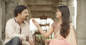 RP Patnaik & Anitha in Manalo Okkadu Movie Photos