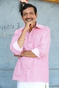 Nizhalgal Ravi @ Manam Konda Kadhal Movie Shooting Spot Stills