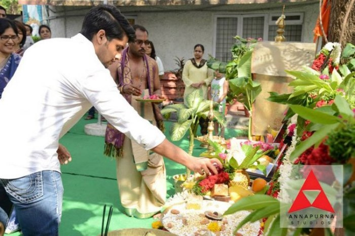 Naga chaitanya muhurtham shoot
