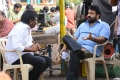 Sai Korrapati, Mohanlal @ Manamantha Movie Working Stills