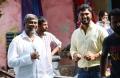 Chandra Sekhar Yeleti, Rahul Srivastava @ Manamantha Movie Working Stills