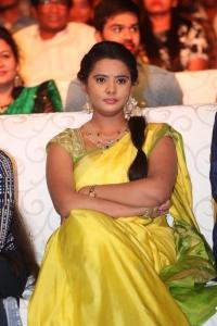 Actress Manasa Photos @ Savitri Audio Launch