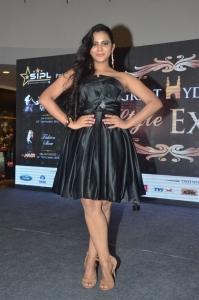 Actress Manasa Himavarsha Pics @ Great Hyderabad Lifestyle Expo 2016